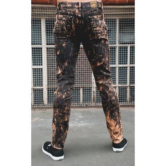 3RDAND56th férfi nadrág - Acid Wash Skinny, 3RDAND56th