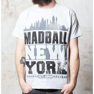 póló férfi Madball - Skyline - Heather Grey, Buckaneer, Madball