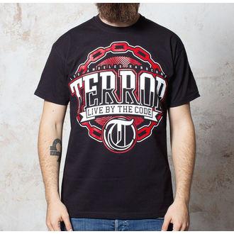 póló férfi Terror - Chain - Black - Buckaneer, Buckaneer, Terror