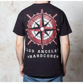 póló férfi Terror - Compass - Black - Buckaneer, Buckaneer, Terror