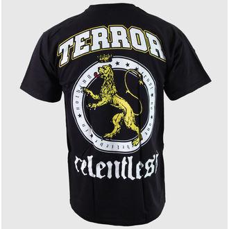 póló férfi Terror - Relentless - Black - Buckaneer, Buckaneer, Terror