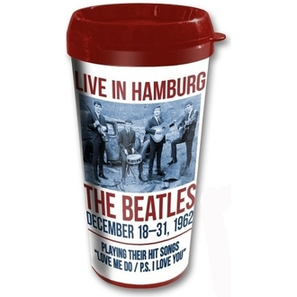 bögre thermo The Beatles - Hamburg - ROCK OFF