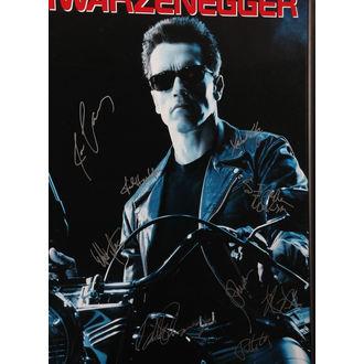 poszter  aláírások Terminátor 2, ANTIQUITIES CALIFORNIA