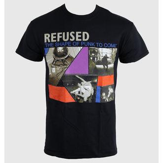 metál póló férfi unisex Refused - The Shape Of Punk - KINGS ROAD, KINGS ROAD, Refused