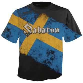 metál póló férfi unisex Sabaton - Swedish Empire Live Deluxe - NUCLEAR BLAST, NUCLEAR BLAST, Sabaton
