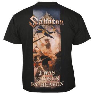metál póló férfi unisex Sabaton - I Was Chosen By Heaven - NUCLEAR BLAST, NUCLEAR BLAST, Sabaton
