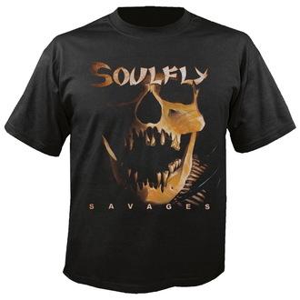 Soulfly férfi póló - Savages - NUCLEAR BLAST, NUCLEAR BLAST, Soulfly