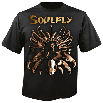 metál póló férfi unisex Soulfly - Bones - NUCLEAR BLAST, NUCLEAR BLAST, Soulfly