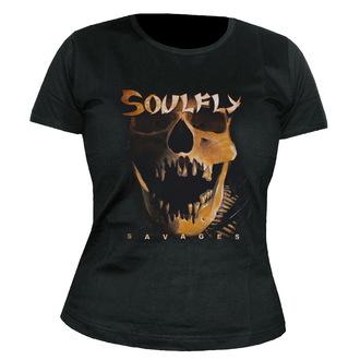 metál póló női unisex Soulfly - Savages - NUCLEAR BLAST, NUCLEAR BLAST, Soulfly
