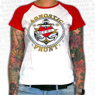 metál póló női unisex Agnostic Front - Anchor - RAGEWEAR - 001GRRW01