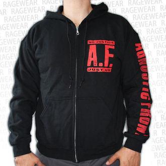 kapucnis pulóver férfi Agnostic Front - No Justice, Just Us - RAGEWEAR, RAGEWEAR, Agnostic Front