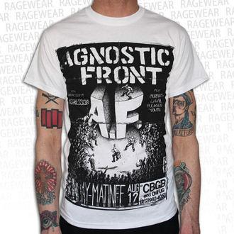metál póló férfi unisex Agnostic Front - Old School - RAGEWEAR, RAGEWEAR, Agnostic Front