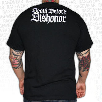 metál póló férfi unisex Death Before Dishonor - Black Bats - RAGEWEAR, RAGEWEAR, Death Before Dishonor