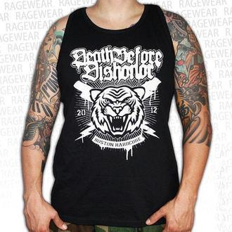 trikó férfi Death Before Dishonor - Tiger - Black - RAGEWEAR, RAGEWEAR, Death Before Dishonor