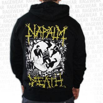 kapucnis pulóver férfi Napalm Death - Ultilitarian - RAGEWEAR, RAGEWEAR, Napalm Death