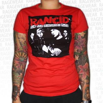 metál póló női unisex Rancid - Dominoes - RAGEWEAR, RAGEWEAR, Rancid