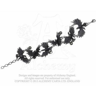 karkötő Pelyhesítő Ravens - ALCHEMY GOTHIC, ALCHEMY GOTHIC
