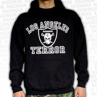 kapucnis pulóver férfi Terror - Los Angeles - RAGEWEAR, RAGEWEAR, Terror