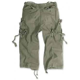 SURPLUS 3/4-es férfi rövidnadrág - Vintage - Olive, SURPLUS
