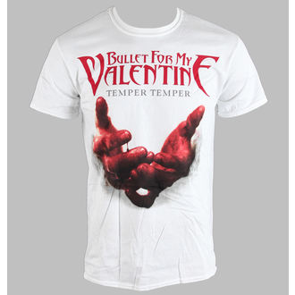 metál póló férfi unisex Bullet For my Valentine - Temper Temper Blood Hands - ROCK OFF, ROCK OFF, Bullet For my Valentine
