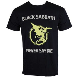 metál póló férfi unisex Black Sabbath - Never Say Die - BRAVADO EU, BRAVADO EU, Black Sabbath