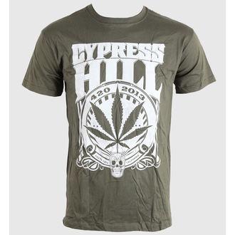 metál póló férfi unisex Cypress Hill - 420 2013 - BRAVADO EU, BRAVADO EU, Cypress Hill