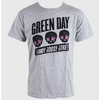 Green Day férfi póló - Heads Better Than - Grey - BRAVADO EU, BRAVADO EU, Green Day