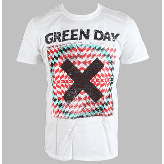 Green Day férfi póló - Xllusion - White - BRAVADO EU, BRAVADO EU, Green Day