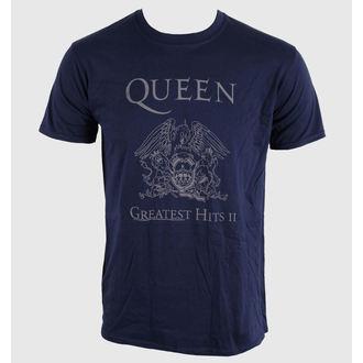 metál póló férfi unisex Queen - Greatest Hits II - BRAVADO EU, BRAVADO EU, Queen
