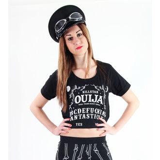 póló női unisex - Ouija Crop - KILLSTAR, KILLSTAR