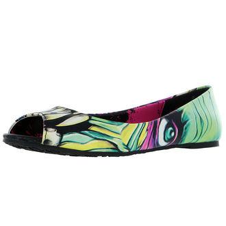 balerina cipők női - Skin Crawler Peep - IRON FIST, IRON FIST