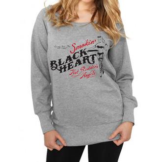 pulóver (kapucni nélkül) női - Smokins - BLACK HEART, BLACK HEART