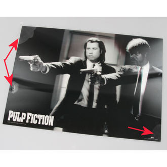 kép 3D Pulp Fiction - Guns - Pyramid Posters - PPL70097, PYRAMID POSTERS