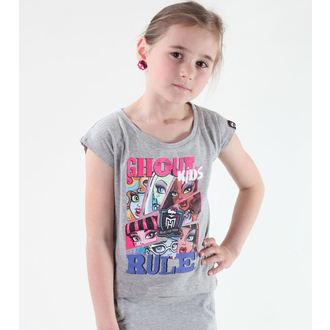 póló lány Monster High - Grey, TV MANIA, Monster High