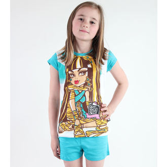 pizsama lány Tv MANIA - Monster High - White / Turquise, TV MANIA