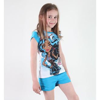 pizsama lány Tv MANIA - Monster High - White/Blue, TV MANIA