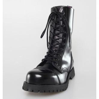 cipő NEVERMIND - 10 lyukú - Black Polido, NEVERMIND