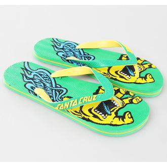 flip-flop női unisex - SANTA CRUZ - Green, SANTA CRUZ