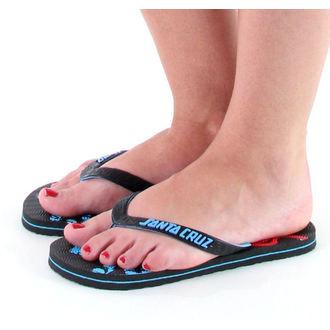 flip-flop női unisex - SANTA CRUZ - Black, SANTA CRUZ