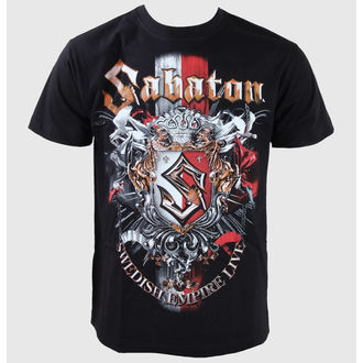 metál póló férfi gyermek Sabaton - Black - CARTON, CARTON, Sabaton