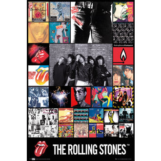 poszter The Rolling Stones - Discography Maxi, GB posters, Rolling Stones