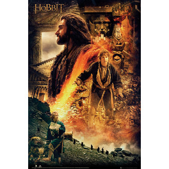 poszter The The Hobbit - Pusztaság of Smaug Fire, GB posters