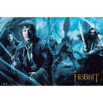 poszter The The Hobbit - Pusztaság of Smaug Bakacsinerdõ - GB posters, GB posters