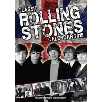 naptár  2015 év ROLLING STONES, NNM, Rolling Stones