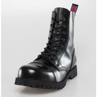 cipő NEVERMIND - 8 lyukú - Black Polido, NEVERMIND