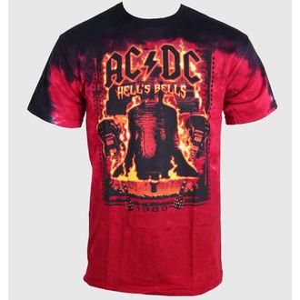 metál póló férfi női unisex AC-DC - Bells - LIQUID BLUE, LIQUID BLUE, AC-DC