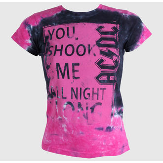 metál póló női unisex AC-DC - Shock Me Juniors - LIQUID BLUE, LIQUID BLUE, AC-DC