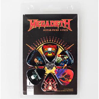 pengető Megadeth - PERRIS LEATHERS, PERRIS LEATHERS, Megadeth