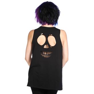 BANNED női trikó (tunika) - Skull Roses - White