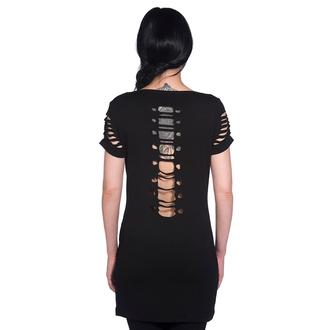BANNED női ruha (tunika) - Corset Skeleton - OBN121